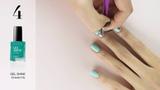 AVON manicure tutorial Flower Fun