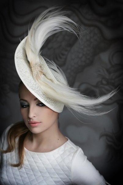 екстранеоюс: вечерние шляпки вуалетки мастер класс