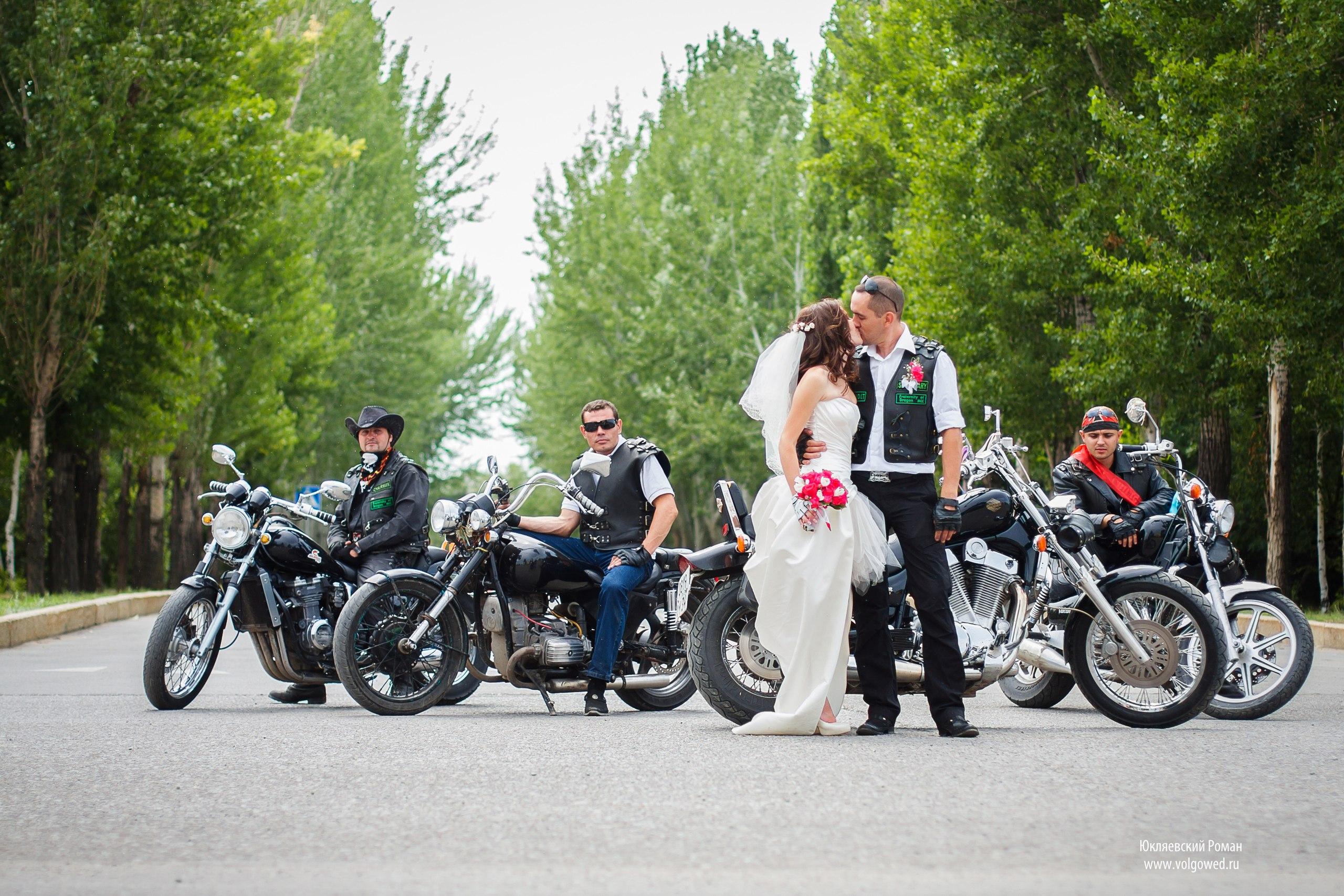 Свадьбы на мото фото