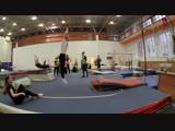 Magic dreams моменты тренировки по акробатике.