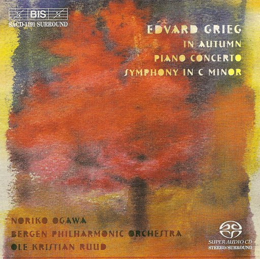 Edvard Grieg альбом Grieg: In Autumn / Piano Concerto / Symphony in C Minor