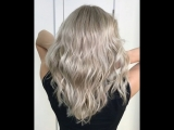 Холодный серебристый блонд