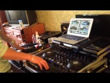 Dj Byke  scratching practise at home