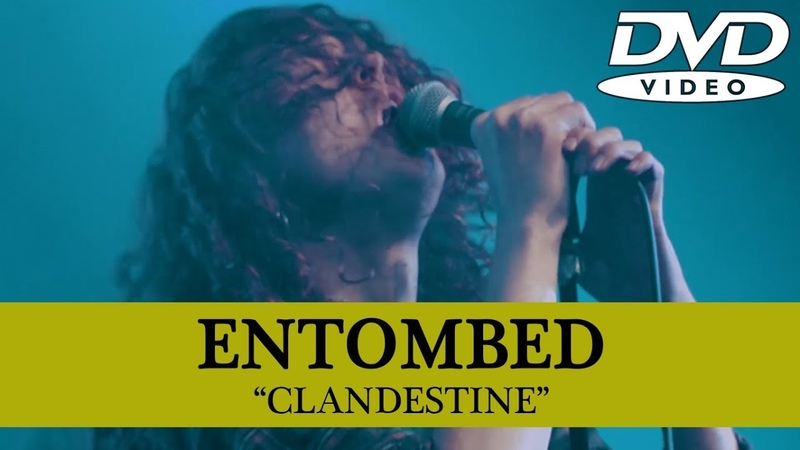 ENTOMBED - Clandestine - Live at Malmö (DVD) Full Show