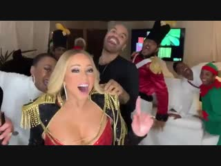 Mariah carey - warming up for the holidays