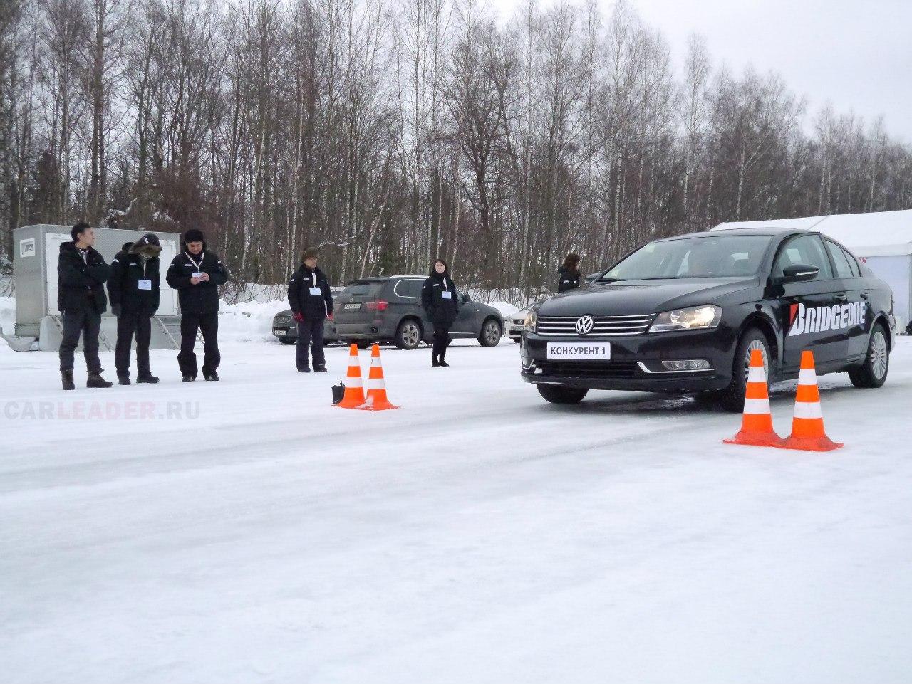 VW Passat 2012 на шинах Nokian 7