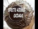 DIY ESPEJO EFECTO OXIDO OXIDADO
