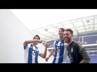 Making of photoshooting FC Porto New Balance