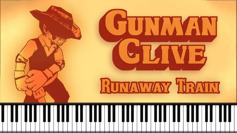 Synthesia [Piano Tutorial] Gunman Clive - Runaway Train