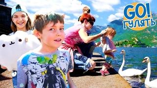 Маша Капуки, Бьянка и Адриан в Италии! Видео для детей.