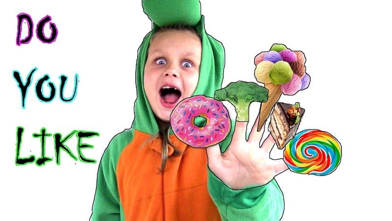 Do you like broccoli Ice cream? Finger Family Nursery Rhyme song by Margarita