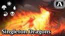 MTG Arena - Dragons Singleton