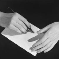 Автоматическое письмо, пондеромоторное письмо