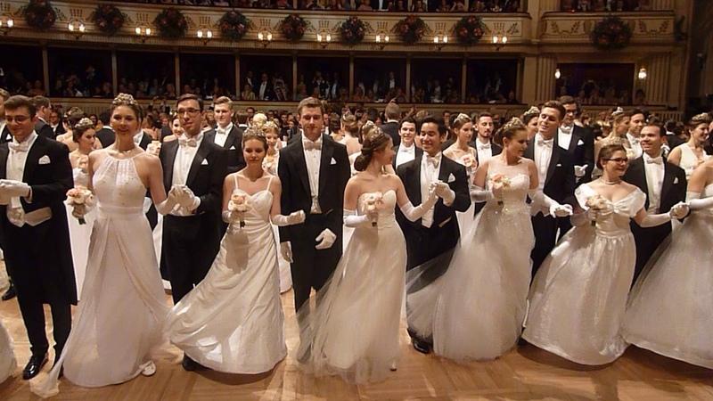 Wiener Opernball 2018, Compliment und Balleröffnung