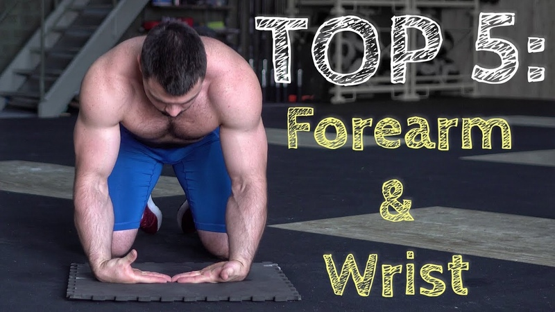 TOP 5 Forearm Wrist Mass Exercises Torokhtiy