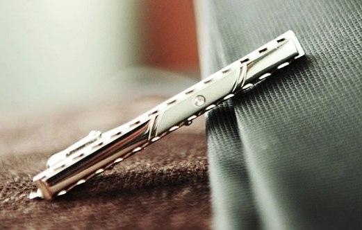"""Стильные зажимы для галстука """"ALEX""""."""
