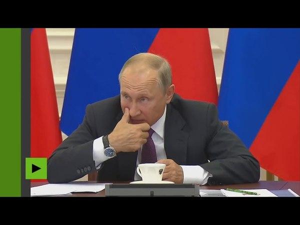 Vladimir Poutine fou la honte à un ministre des finances !