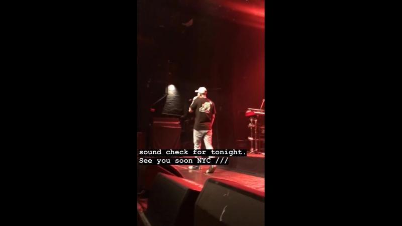 Mike Shinoda instagram story - Album Release Show [LPCoalition]