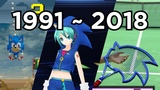 Sonic Cameos 156 Games (1991 to 2018)