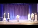 Театр ''Зеркало'', г.Тверь. Поклон после спектакля ''Леди Макбет Мценского уезда''