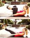 Упражнения на нижний пресс для девушек