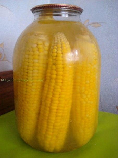 консервирование кукурузы в домашних условиях рецепт