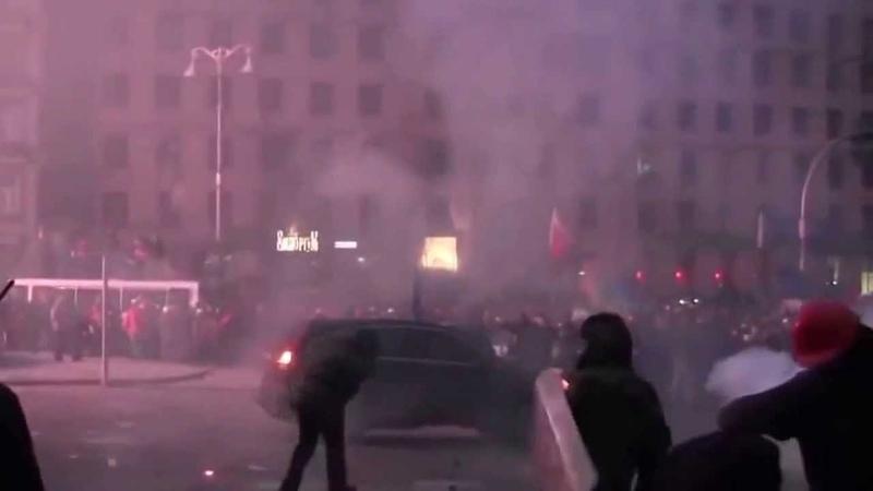 ВОЙНА НА ЕВРОМАЙДАНЕ 19 01 2014 Беркут! Беспорядки! Киев! Украина! Омон!