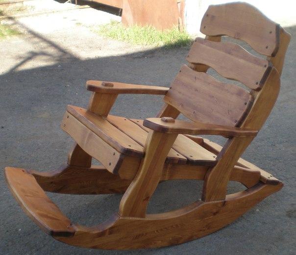 Кресло-качалка своими руками видео