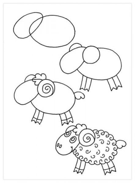 Учимся рисовать с детками