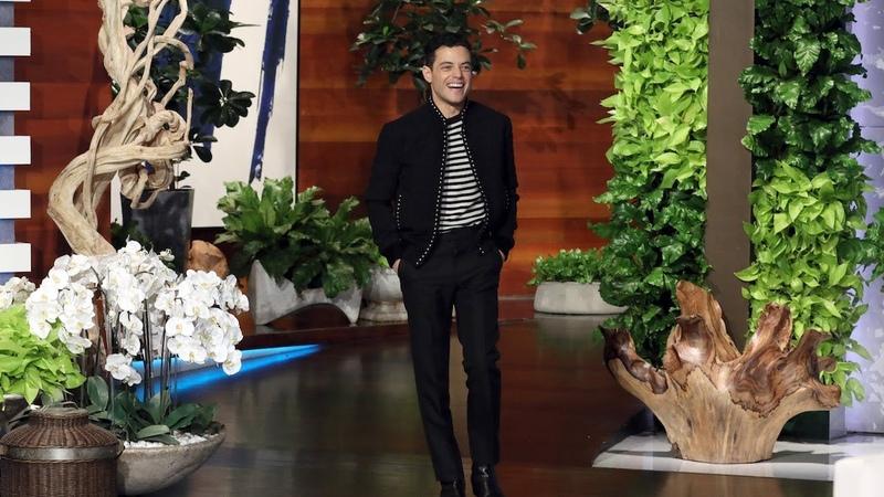 Bohemian Rhapsody Star Rami Malek Asks Ellen for a Selfie