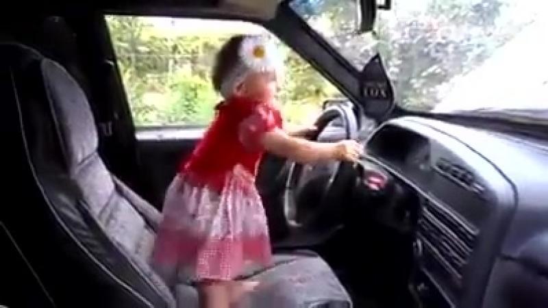 Женщина за рулём День первый 😂