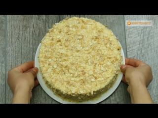 """Всего 15 минут! Быстрый вариант приготовления торта """"Наполеон""""."""
