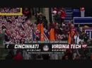 NCAAF 2018 Military Bowl Cincinnati Bearcats Virginia Tech Hokies 1H EN