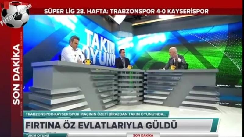 Trabzonspor 4 - 0 Kayserispor Rıza Çalımbay ve Sumudica Maç Sonu Basın Toplantısı 7 Nisan 2018