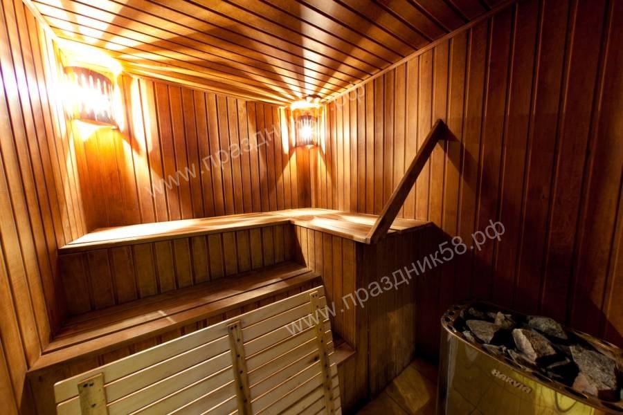 Сауна Ливадия в Пензе, описание, фотографии, цены.