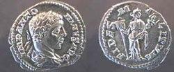 Древнеримские женщины-богини, монеты, Фидес