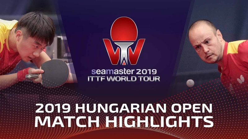 Zhao Zihao vs Carlos Machado 2019 ITTF World Tour Hungarian Open Highlights Pre
