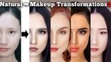 Makeup transformations into beautiful women in their twenties around the world 2 AmaterasuEVE
