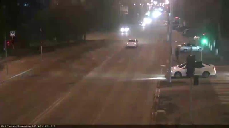 Аварии в Краснодаре 23 января.mp4