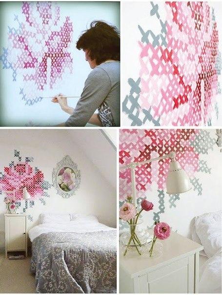Идея для украшение стены
