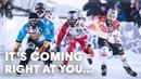 Видео ОТЧЕТ скоростной спуск / Red Bull Crashed Ice СЕЗОН 2018