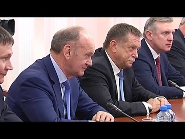 Нового директора «Газоснабжающей компании» представили губернатору Кубани