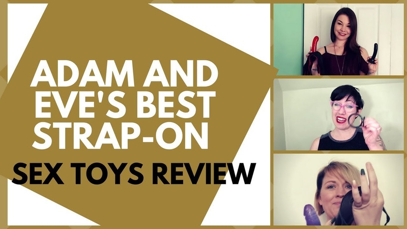Using Strap On Toys with Him and Her | Adam and Eve's Best Strap on Sex Toys Review