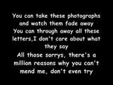 Leona Lewis - Broken Lyrics