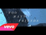 Placebo - Too Many Friends (Lyric Video)