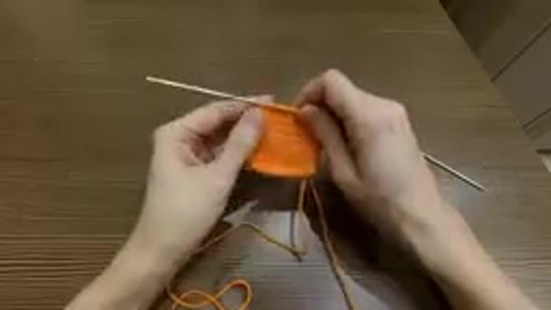 2 Способа провязывания кромочных петель