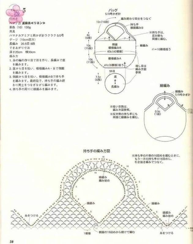 钩针:最简单的菠萝袋 - maomao - 我随心动