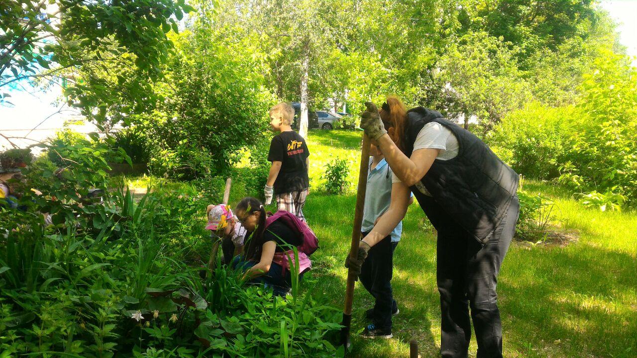 Садоводство в клубе Сфера