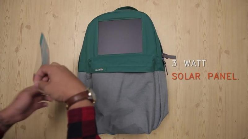 BirkSun _ Boost Solar Backpack
