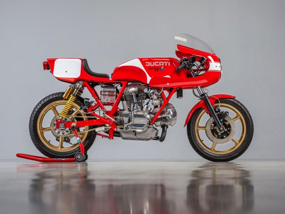 Back To Classics: восстановленный  Ducati 900 Super Sport 1978